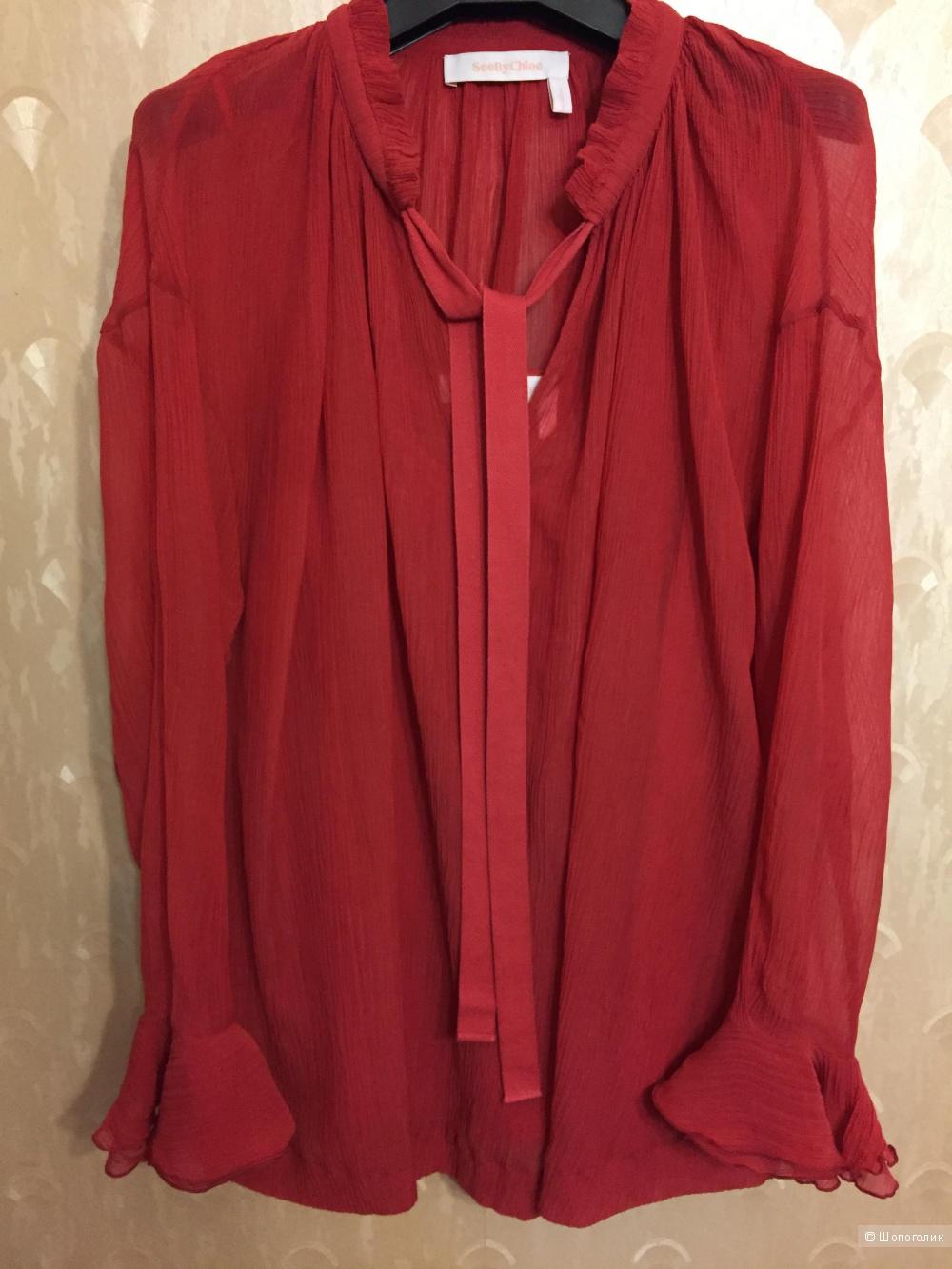 Блузка See by Chloe, размер 46-48