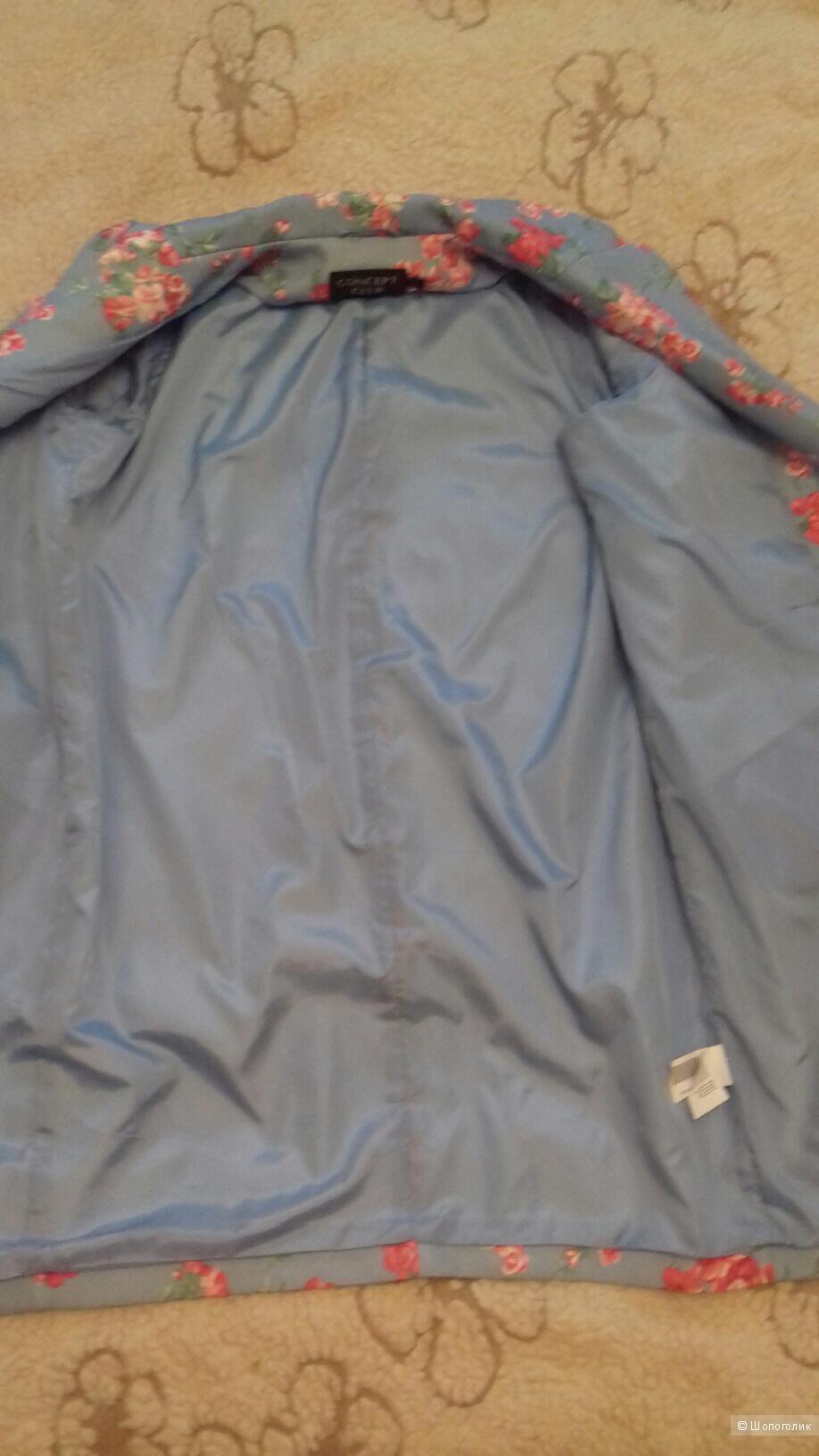 Пальто Concept Clab. Размер L  ( русский 48-52 ).