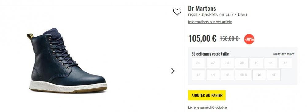 Ботинки Dr Martens р.39