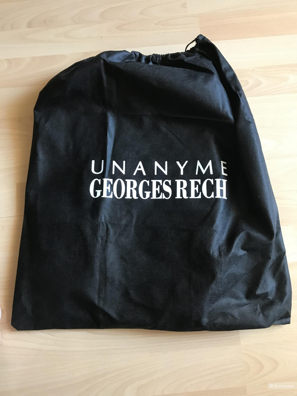 Кожаная сумка UNANYME DE GEORGES RECH