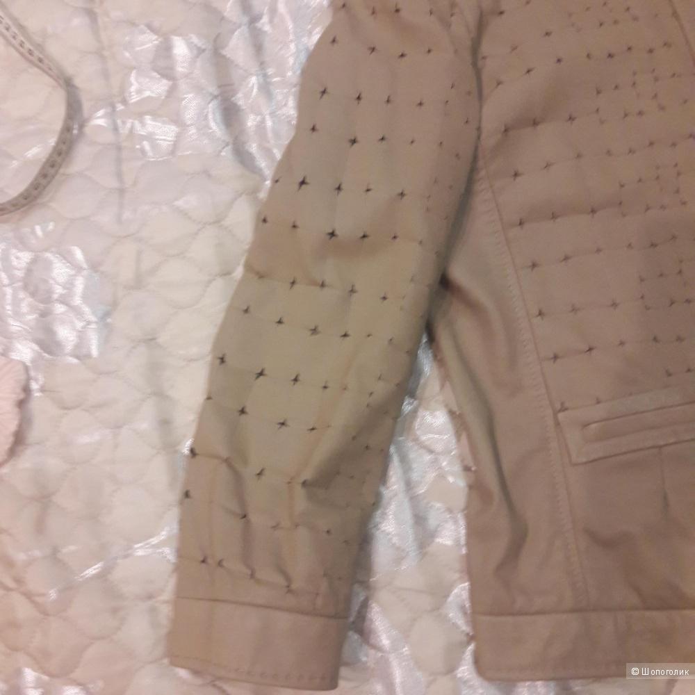 Кожаная куртка Elie Tahari размер 46-48