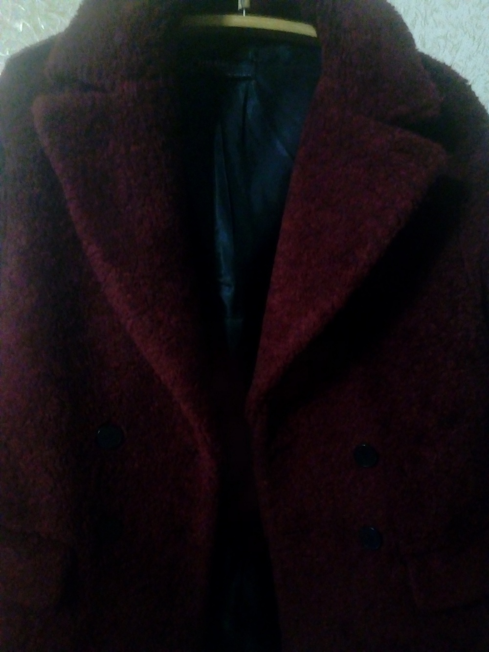 Меховое пальто. Zara Basic. Р-р S.