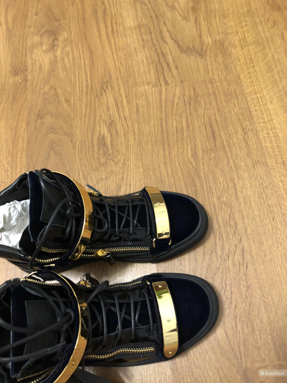 Ботинки GIUSEPPE ZANOTTI 40 размер