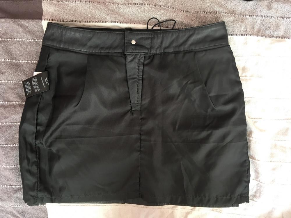 Кожаная юбка Pepe Jeans, размер S