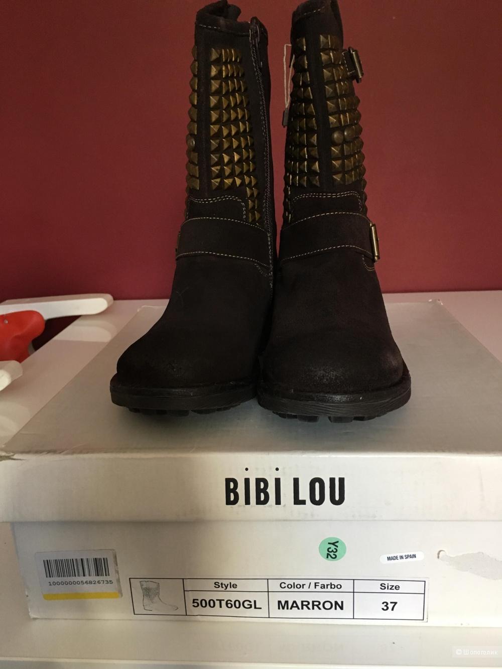 Сапоги замшевые Bibi Lou размер 37