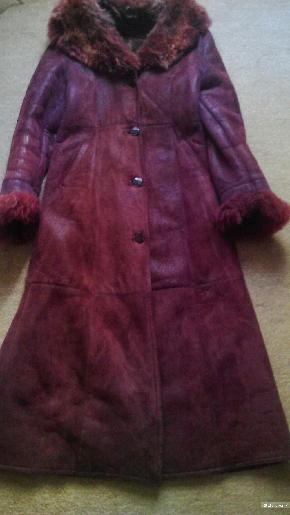 Дубленка  Vera Pelle  48 размер.