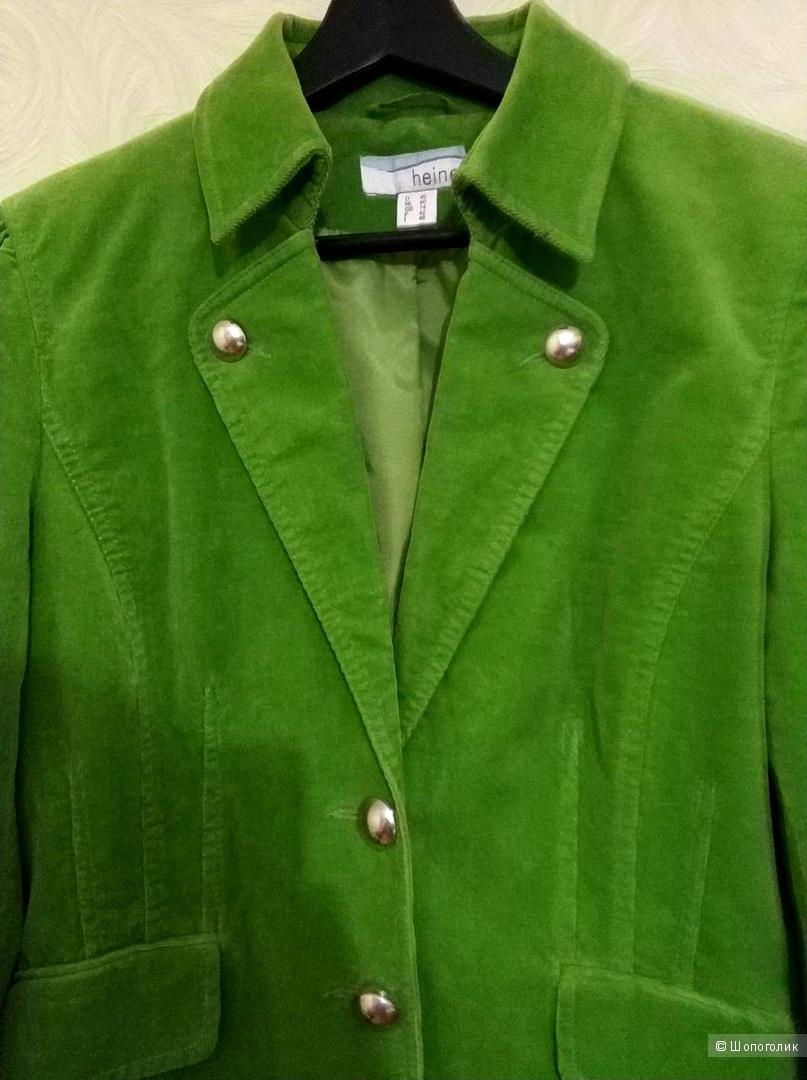 Бархатный пиджак Heine  на 46-48