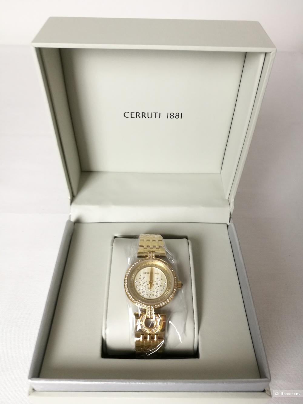 Часы CERRUTI 1881.