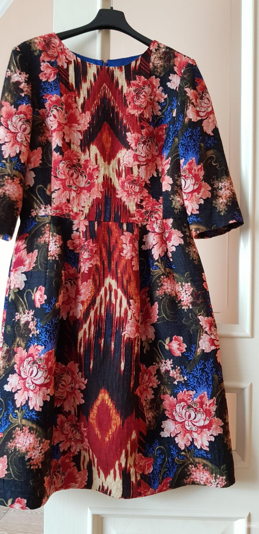 Платье, Oscar de la Renta , размер 12 US , 46-48 ит. размер.