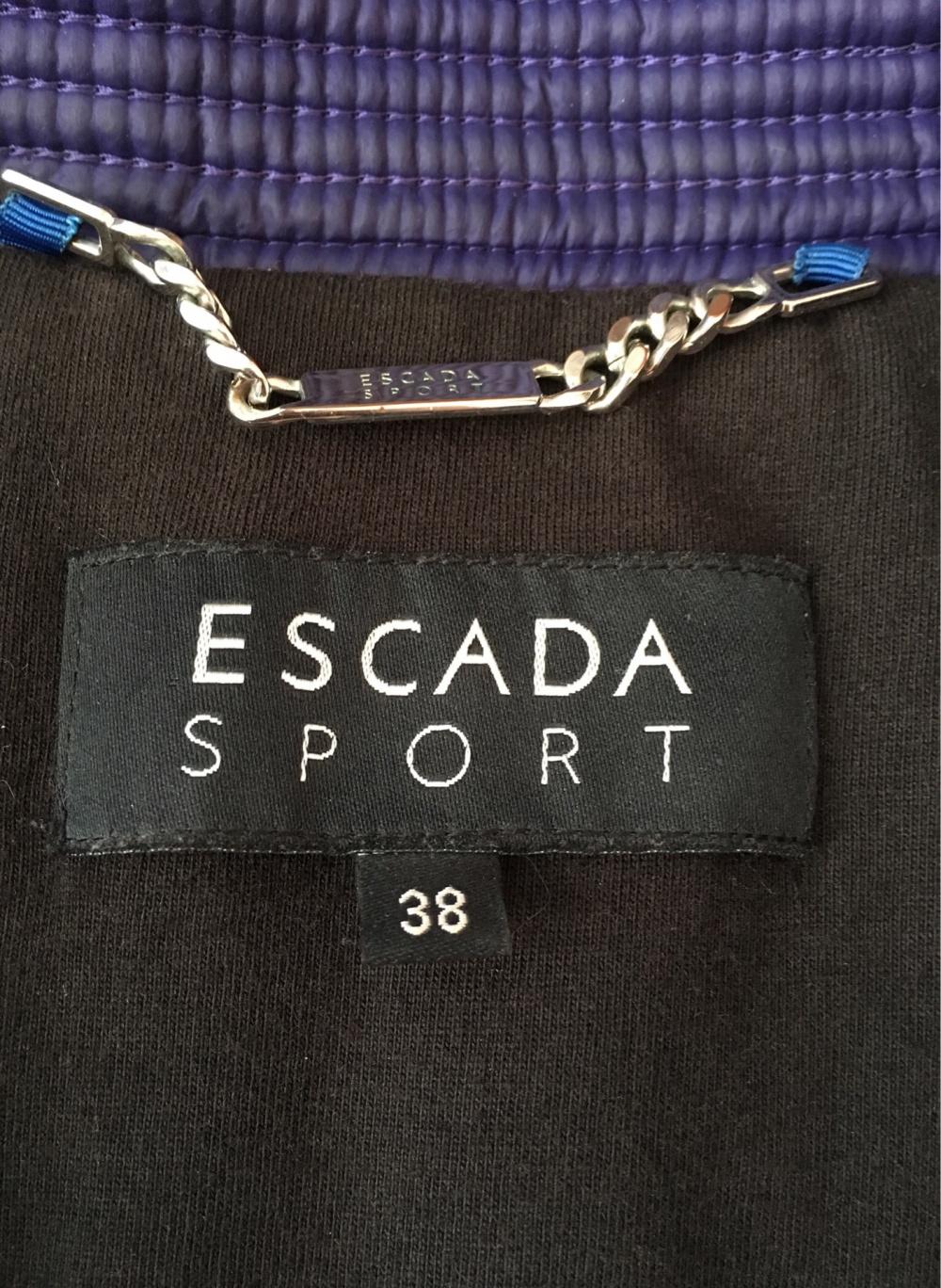 Пуховик Escada Sport, 44-46 размер