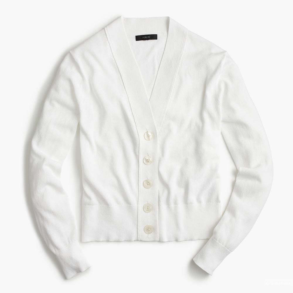 Пуловер-кардиган J crew на s