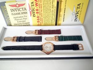 Швейцарские часы Invicta подарочный набор