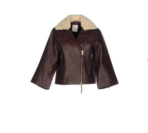 Куртка кожаная WOOD WOOD, размер 36 (44-российский)