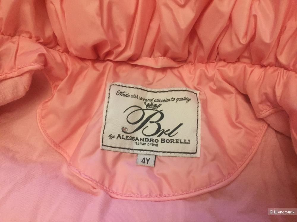 Демисезонная куртка размер 4 Alessandro Borelli
