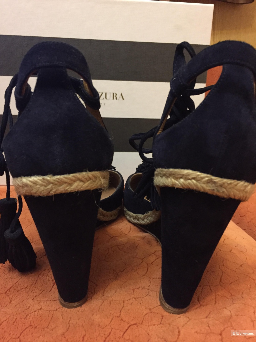 Туфли Aquazzura, размер 39,5