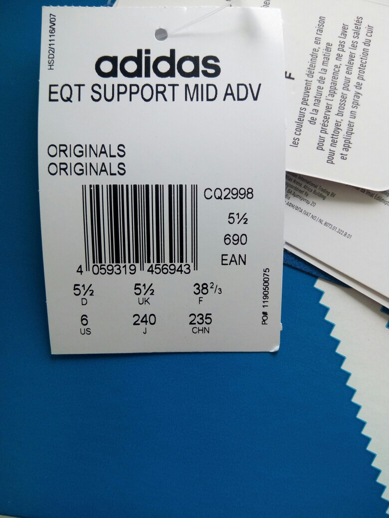 Кроссовки Adidas EQT Support Mid ADV PRIMEKNIT Trainers In Green US 6