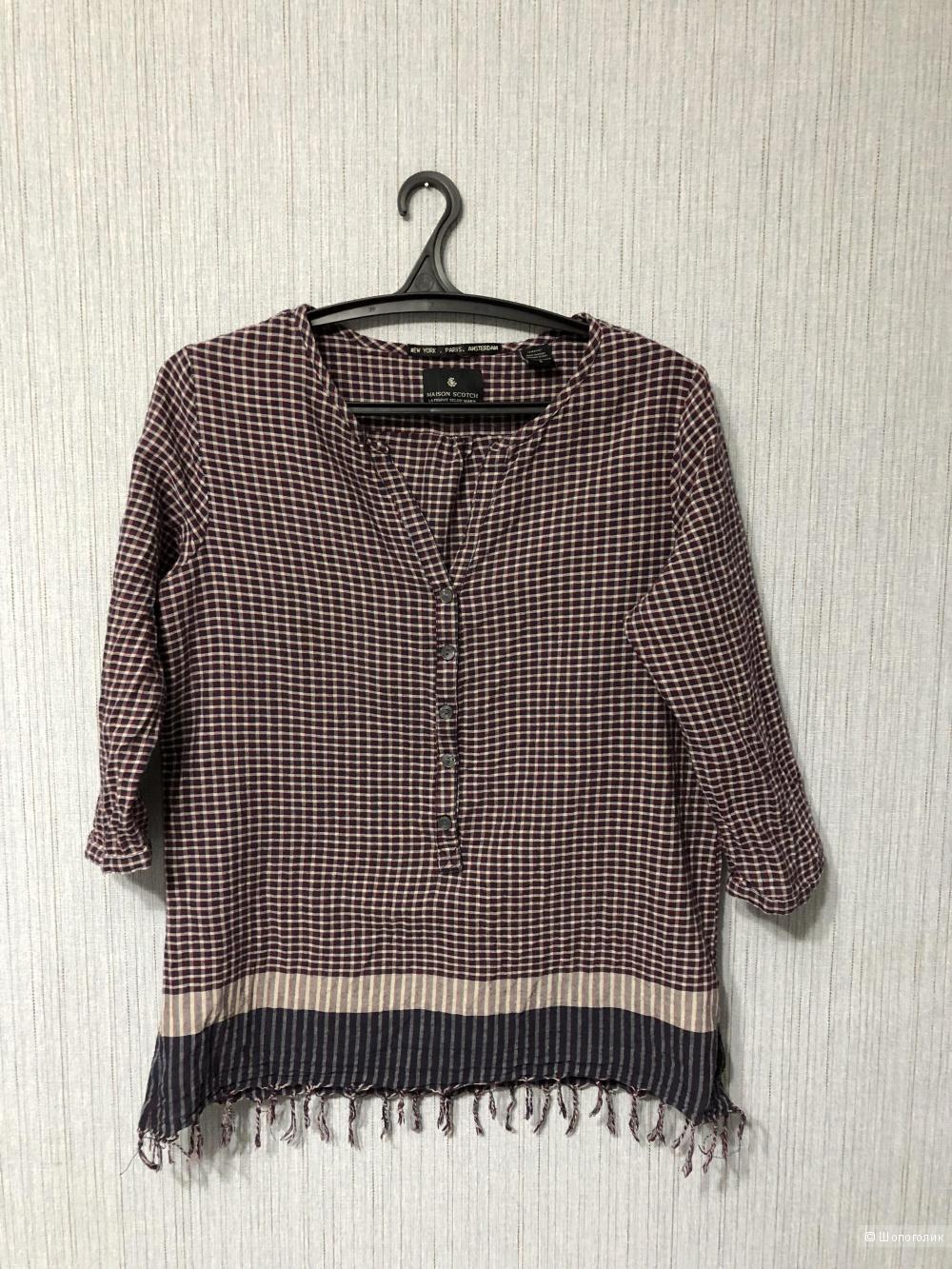 Рубашка Maison Scotch размер 44/46