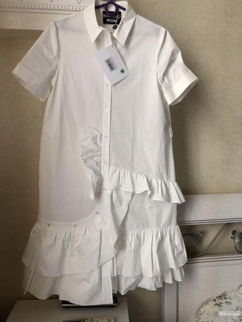 Платье (платье-рубашка) BOUTIQUE MOSCHINO р. 46 (44 IT) большемерит