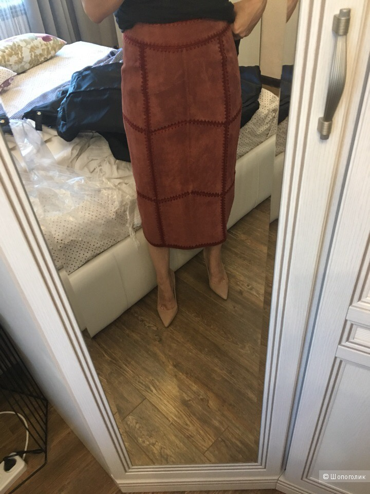 Замшевая юбка Asos евро 34