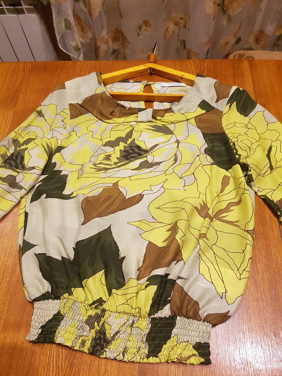Шелковая блуза Beatrice.b ,  р. М
