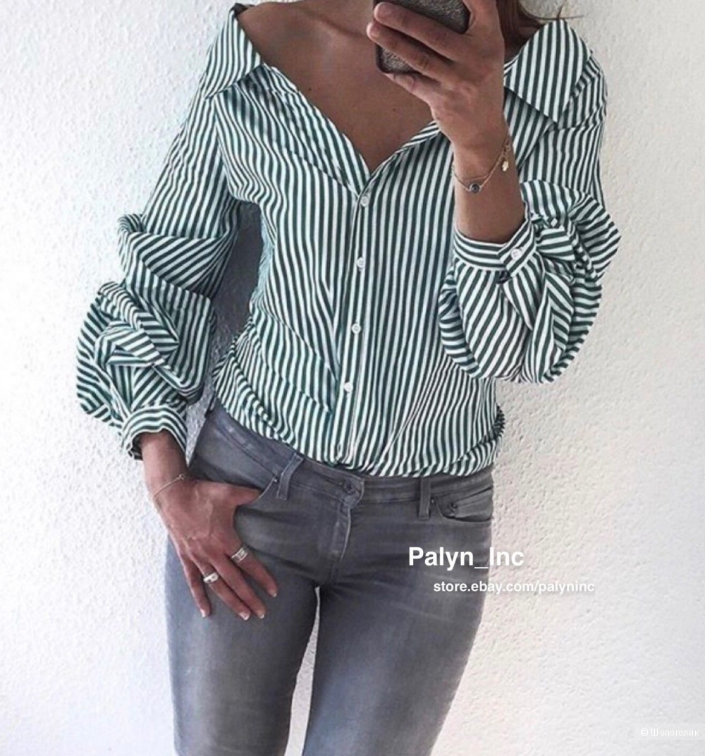 Рубашка Zara XS