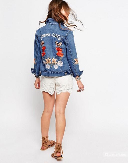 Куртка джинсовая Glamorous Petite XS
