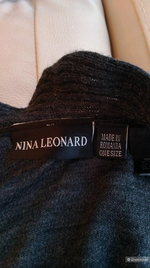 Пончо Nina Leonard one size