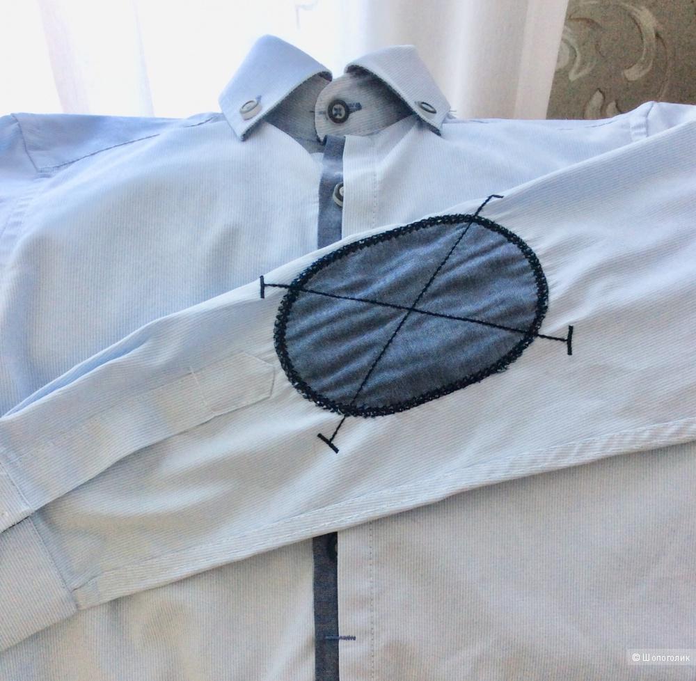Сет из двух школьных рубашек р.122-128