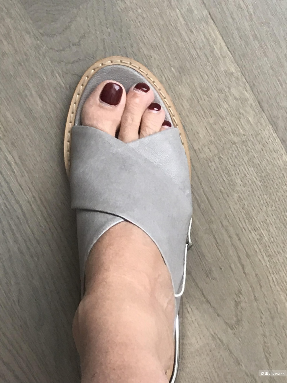 Шлепки на каблуке MM6 Maison Margiela, 39 р-р