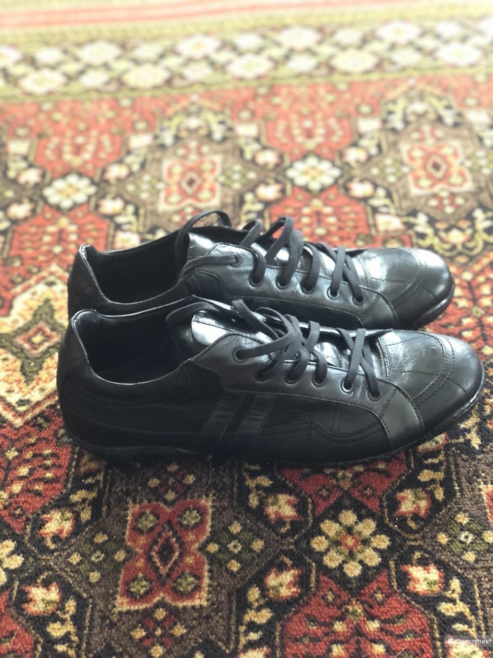 Кожаные кроссовки, Tj collection, 42, 5 р