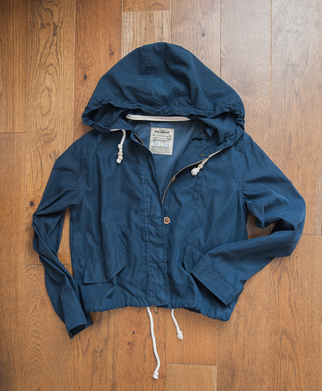 Женская куртка-ветровка Pull-and-Bear, р.S-M