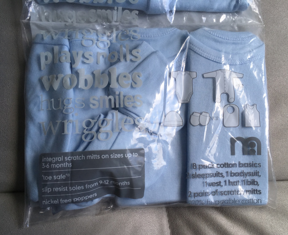 Комплект одежды для новорожденного Mothercare, 56 см
