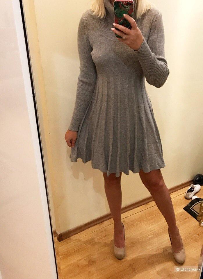 Платье свитер от Calvin Klein L