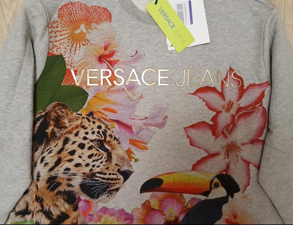 Толстовка Versace Jeans, размер S-M-L