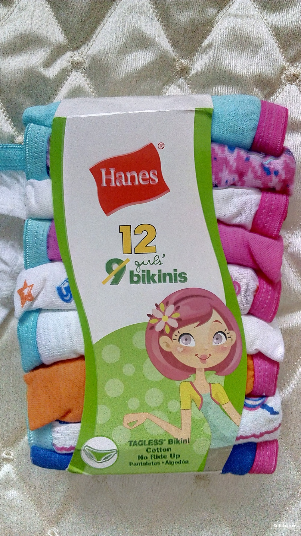 Трусики Hanes, размер 5-7 лет