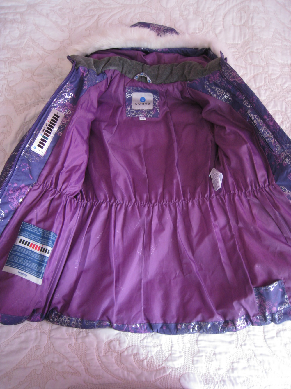 Куртка для девочки Luhta, 152