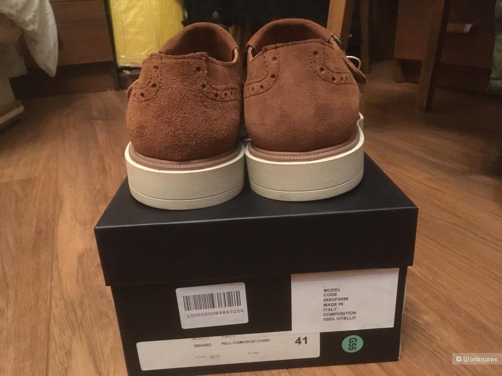 Замшевые туфли монки бренда «8» 41 размер