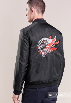 Куртка бомбер Hugo Boss  BILCO/EAGLE , размер 50/ L.