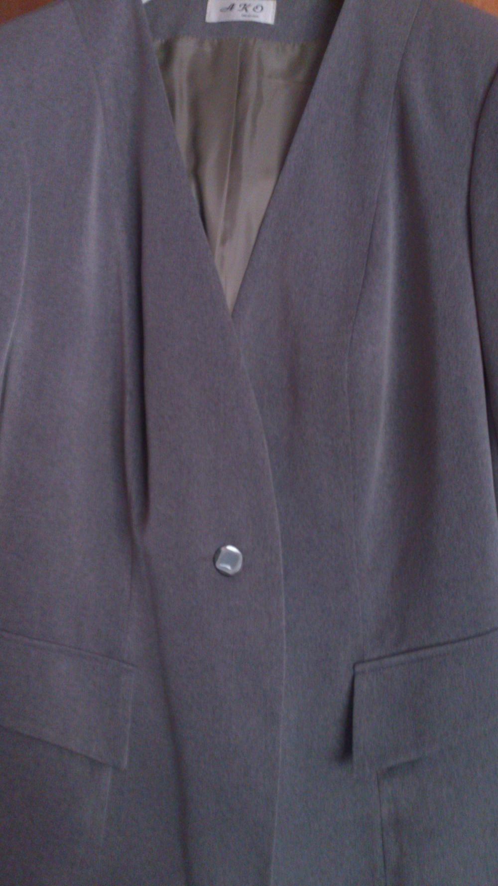 Пиджак = жакет АКО, размер 56-58+ (рос)