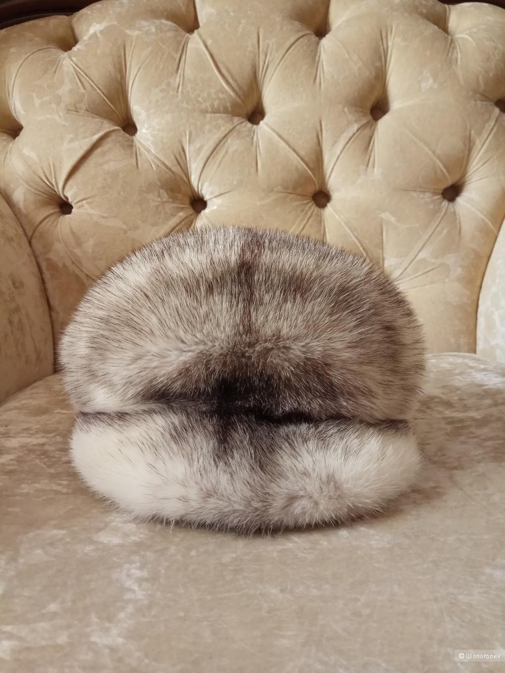 """Норковая кепка ,,Меха Екатерины"""",one size"""