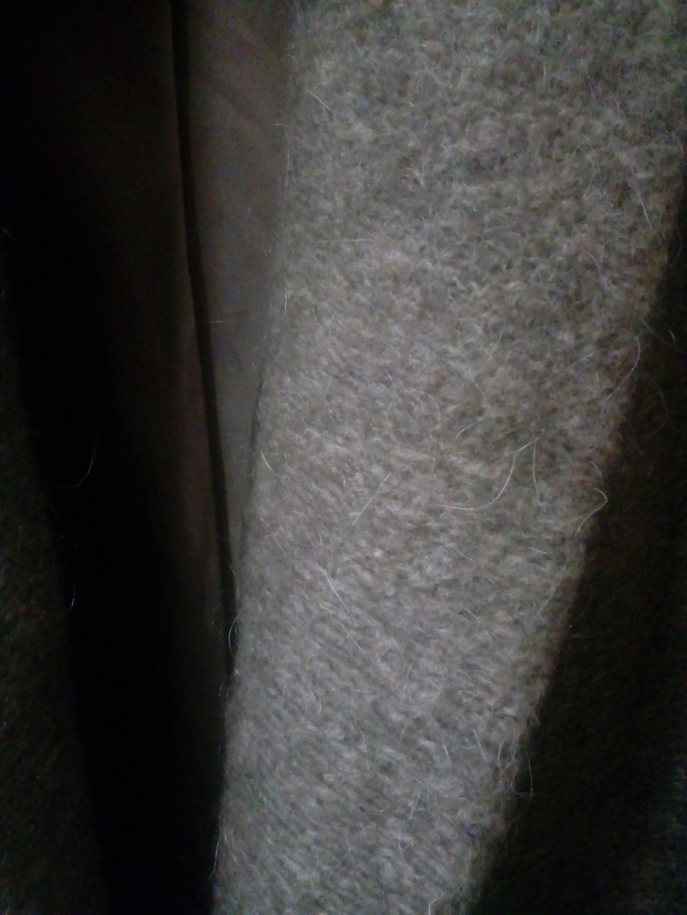 Трикотажное оversize-пальто из шерстяной смеси ASOS, UK 6