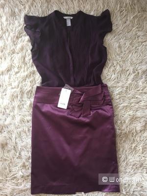 Сет из блузки юбки, размер 42-44