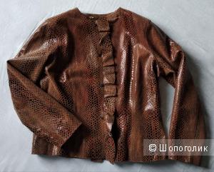 Кожаная куртка - жакет, Centigrade, р.48-50-52