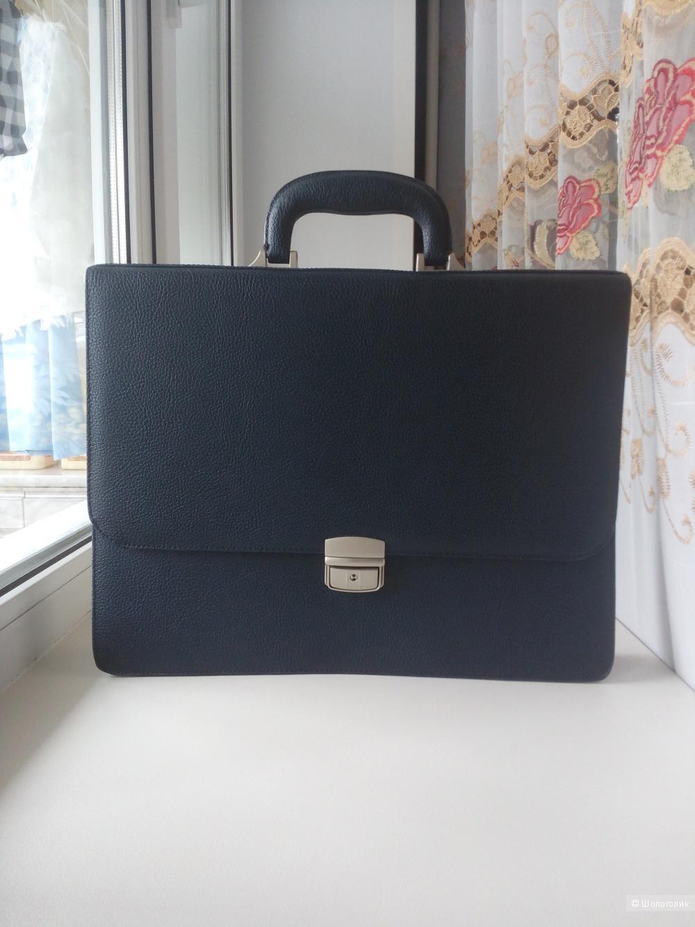 Кожаный портфель Pola