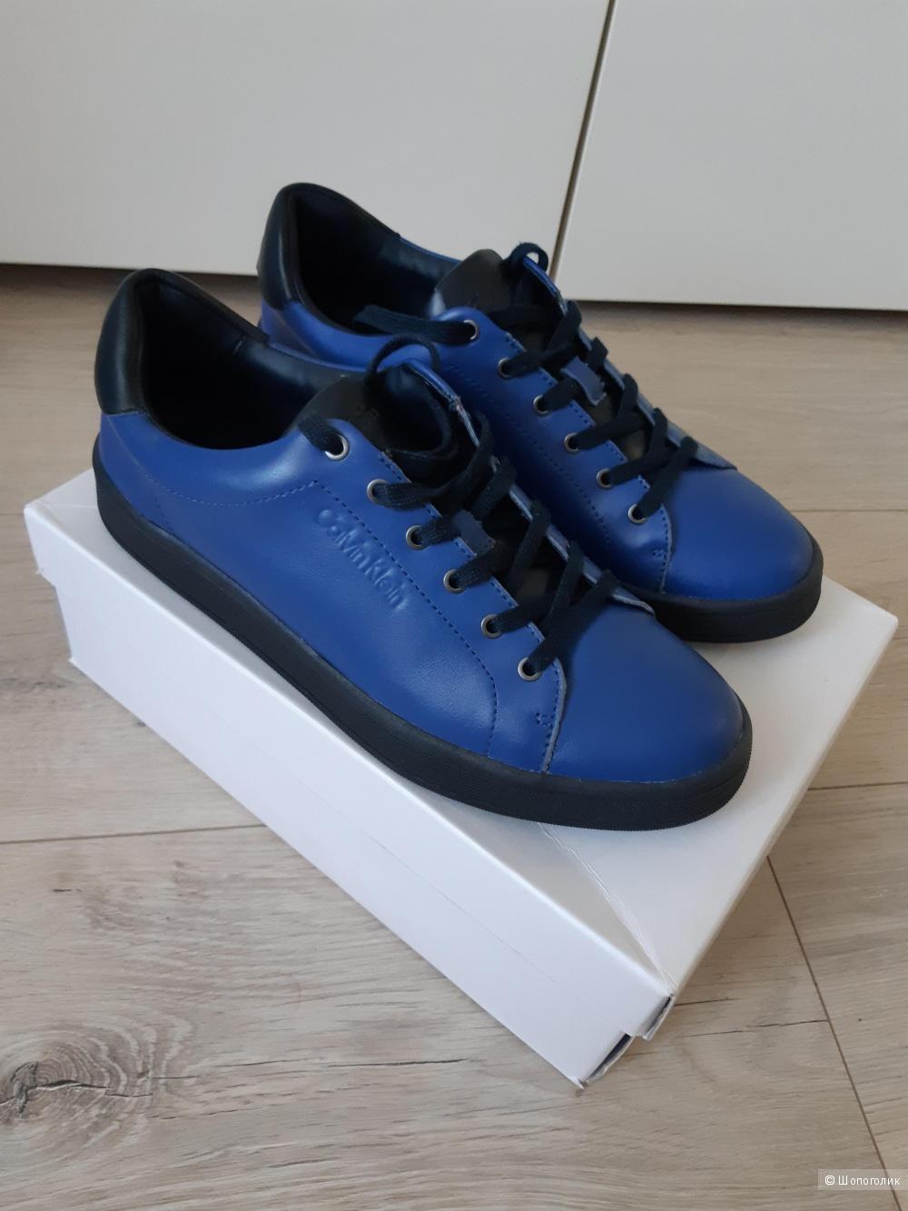 Кожаные ботинки Calvin Klein, р 38