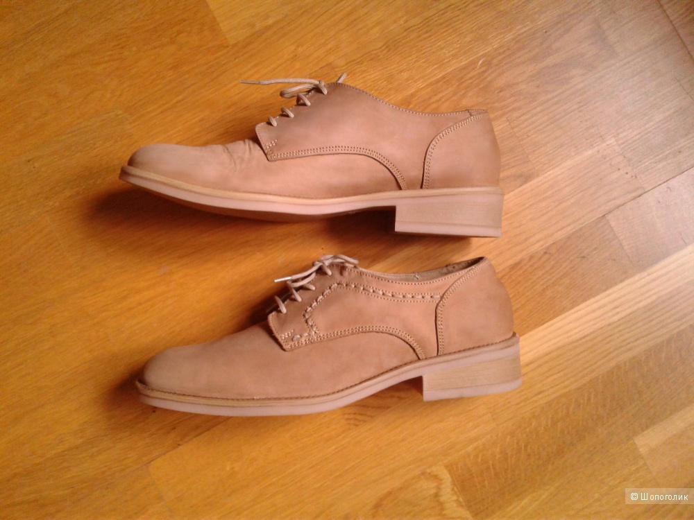 Ботинки кожаные Woodstone, размер 38