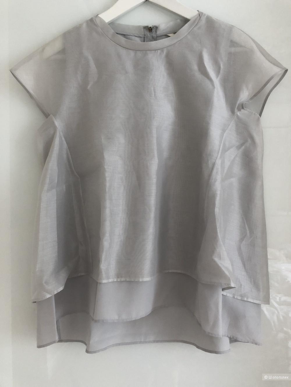 Шелковая блузка Guglielminotti 42