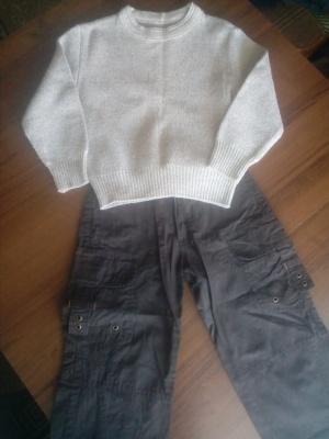 Сет джемпер и брюки. Р-р 3-4 года.