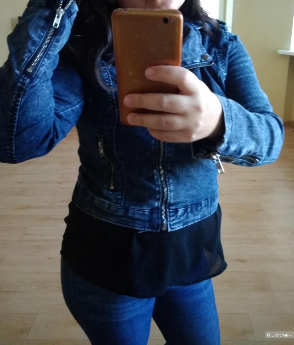 Джинсовая куртка Tally weijl 46-48