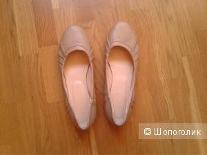 Кожаные балетки no name, 38 размер